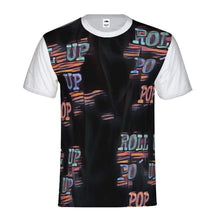 Load image into Gallery viewer, Roll Up Po' Up Pop Rave Edition Men's Tee, cloth -tie - fly