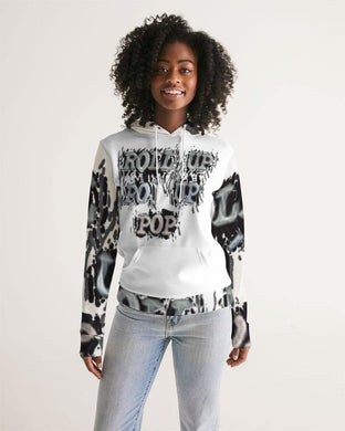 Roll Up Po' Up Pop News Edition Women's Hoodie
