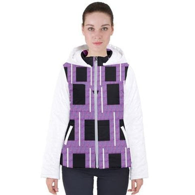Royal Geo 2 Hooded Puffer Jacket - 3 Colors