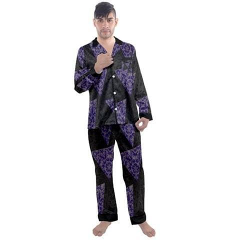 TSWG (Tough Smooth Well Groomed) Royal Snakeskin Satin Pj's - 2 Colors - Tie-Fly