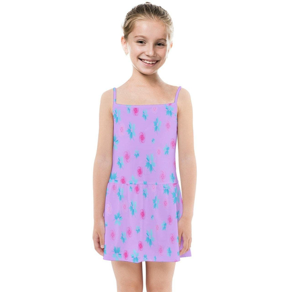 Floral Kids Kids' Summer Sun Dress - Tie-Fly