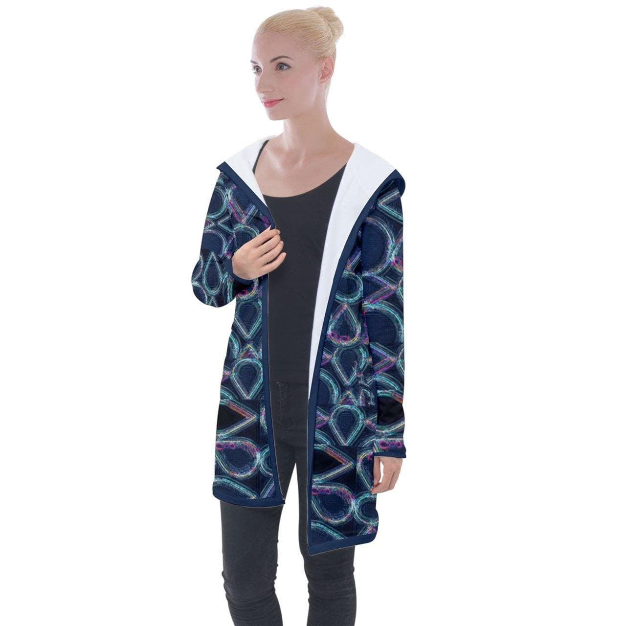 Pure Hydro Longline Hooded Cardigan - Tie-Fly