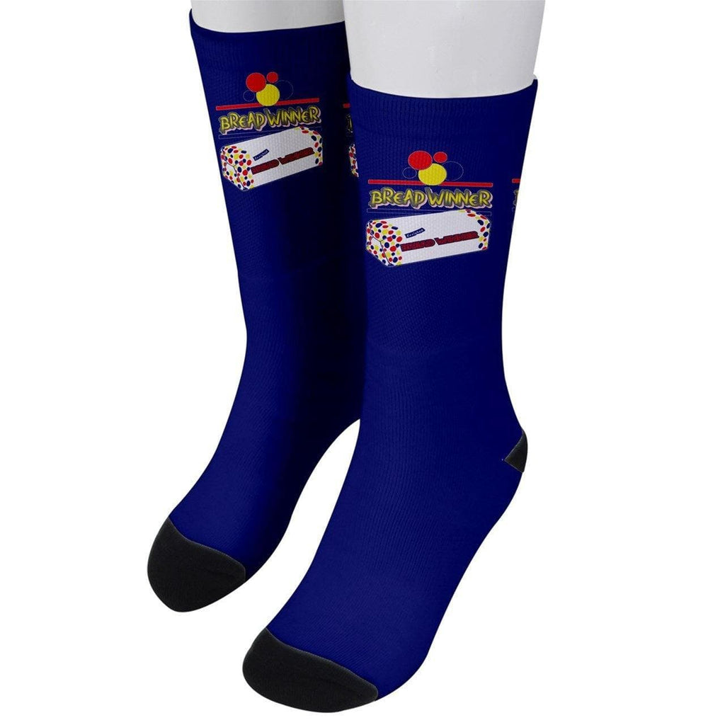 Winner Men's Crew Socks -4 colors - Tie-Fly