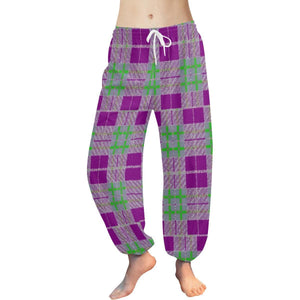 Tribute to Plaid Harem Pant - Tie-Fly