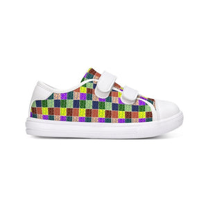 Abstract Kids Kids Velcro Sneaker - Tie-Fly