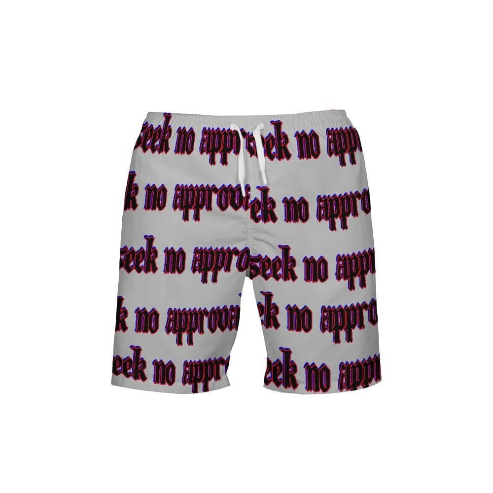 Seek No approval  Men's Swim Trunk - Tie-Fly