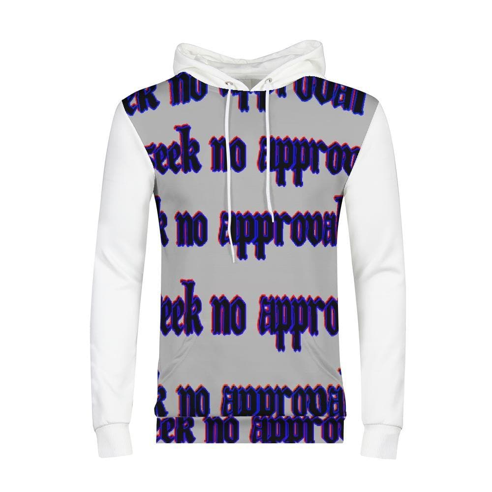 Seek No Approval 2 Men's Hoodie - Tie-Fly