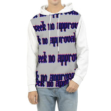 Load image into Gallery viewer, Seek No Approval 2 Men's Hoodie, cloth -tie - fly
