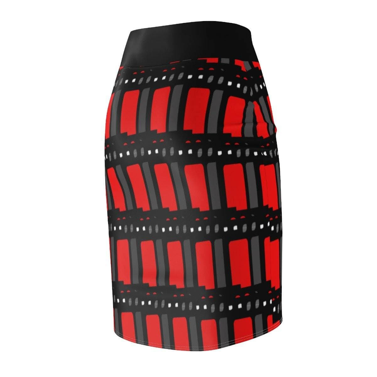 Edgy Women's Pencil Skirt - Tie-Fly