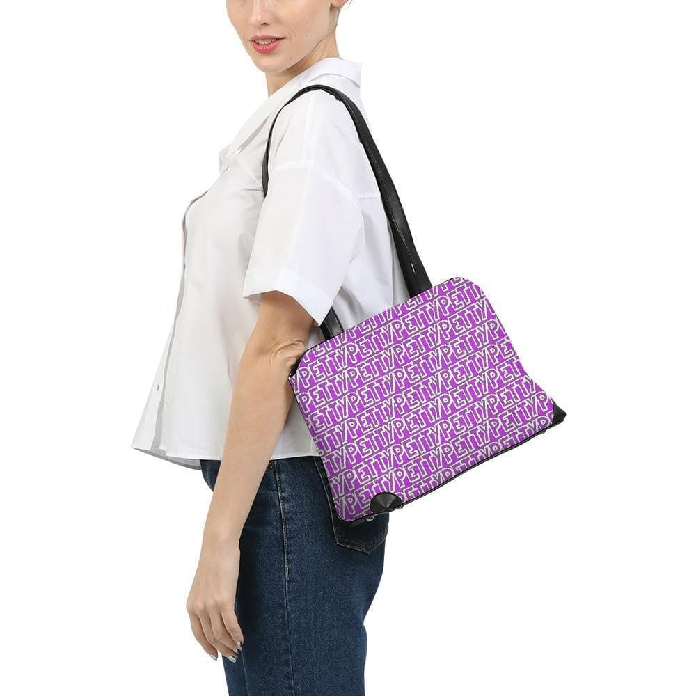 Petty Repeat - Purple Shoulder Bag - Tie-Fly