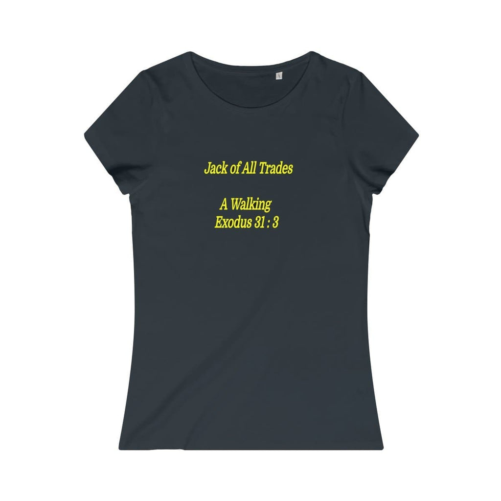 Jack of All Trades Women's Organic Tee - Tie-Fly