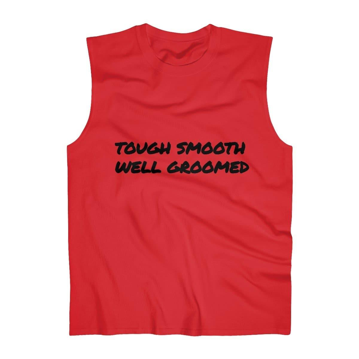 TSWG (Tough Smooth Well Groomed) Men's Ultra Cotton Sleeveless Tank Voluptuous (+) Size Available - Tie-Fly