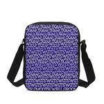 Load image into Gallery viewer, TSWG Repeat - Blue Messenger Pouch - Tie-Fly