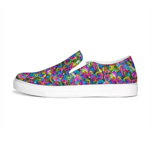 Psy-Rose Slip-On Canvas Shoe, shoes -tie - fly