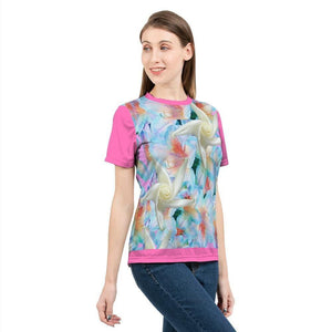 Midnight Floral  Women's Tee - Tie-Fly