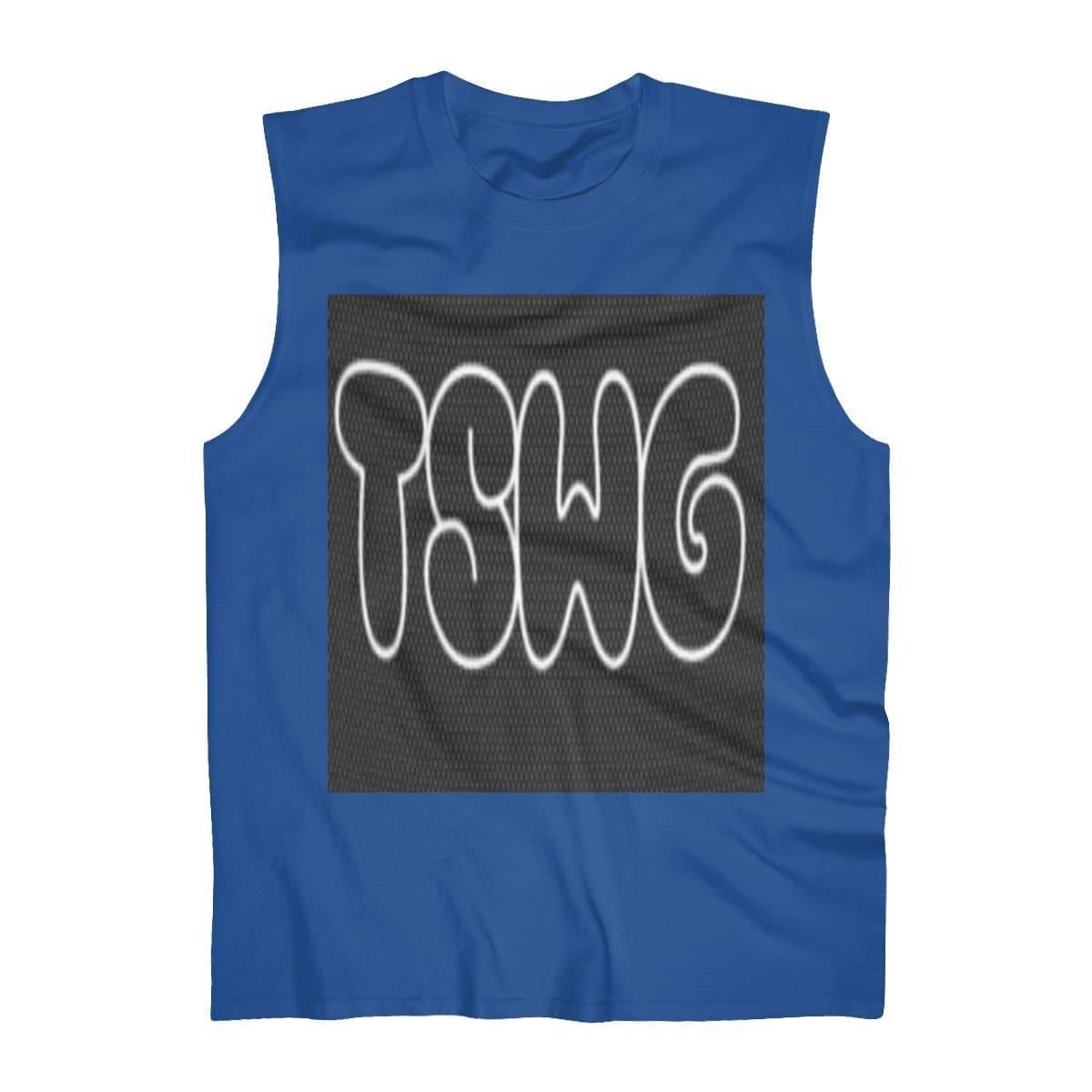 TSWG (Tough Smooth Well Groomed) Men's Ultra Cotton Sleeveless Tank - Tie-Fly