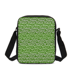 Load image into Gallery viewer, TSWG (Tough Smooth Well Groomed) Repeat - Green Messenger Pouch - Tie-Fly