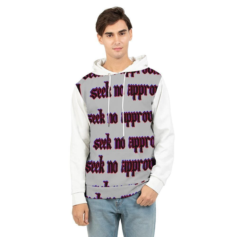 Seek No approval  Men's Hoodie - Tie-Fly
