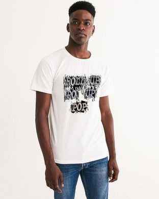 Roll Up Po' Up Pop News Edition Men's Graphic Tee