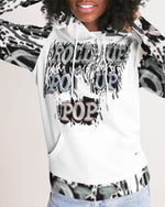 Load image into Gallery viewer, Roll Up Po' Up Pop News Edition Women's Hoodie - Tie-Fly