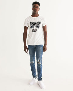 Roll Up Po' Up Pop News Edition Men's Graphic Tee - Tie-Fly