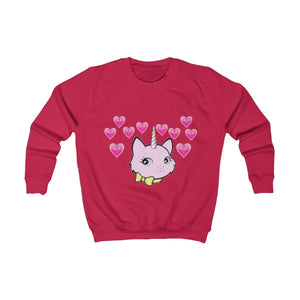 Bec & Friends Uni-Cat Kids Sweatshirt - Tie-Fly