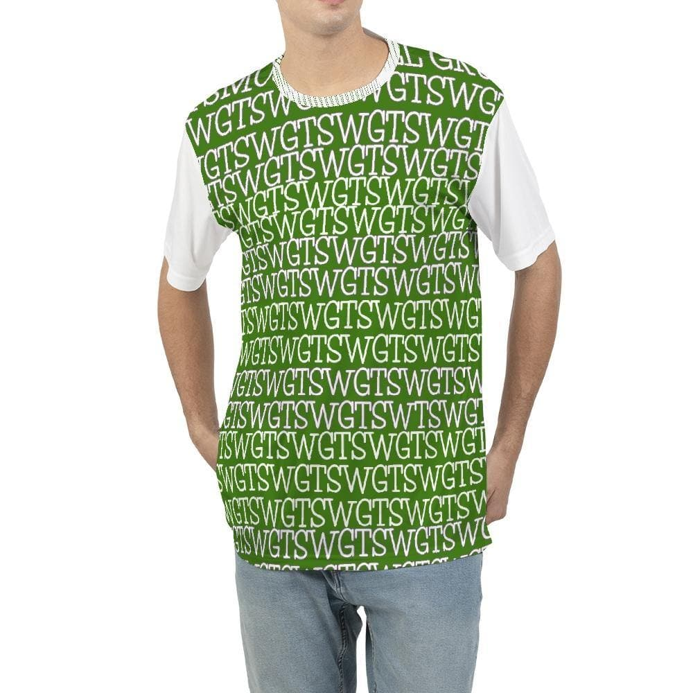 TSWG (Tough Smooth Well Groomed) Repeat - Green Men's Tee - Tie-Fly