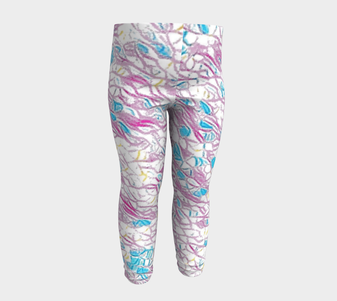 Teacher's Pet Collection: Royal Pallette kids Baby Leggings - Tie-Fly
