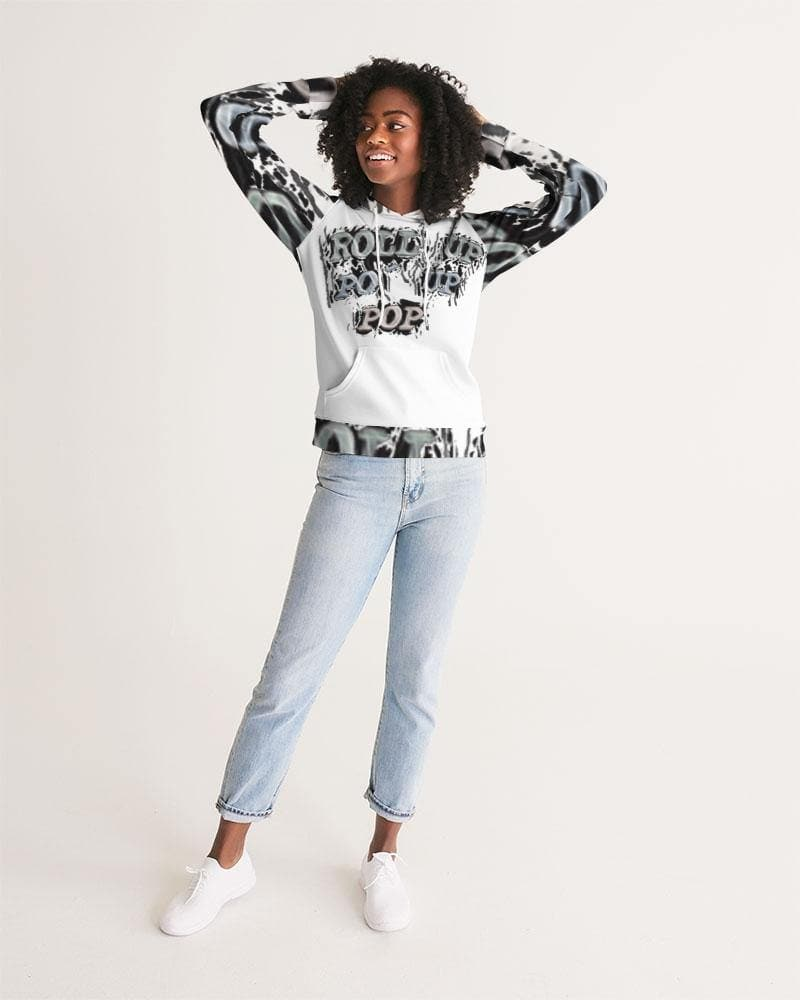 Roll Up Po' Up Pop News Edition Women's Hoodie - Tie-Fly