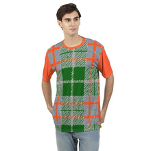 Load image into Gallery viewer, Tribute to Plaid Men's Tee, cloth -tie - fly