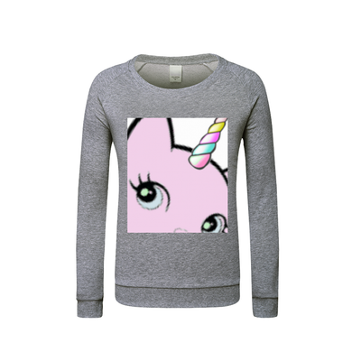 Bec & Friends Uni-Cat  Kids Graphic Sweatshirt