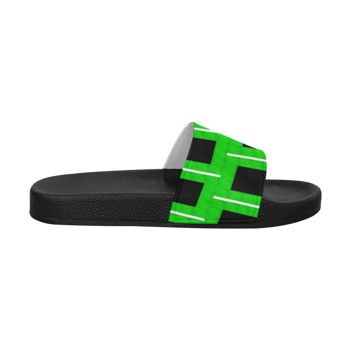 Royal Geo Men's Slide Sandals - Tie-Fly