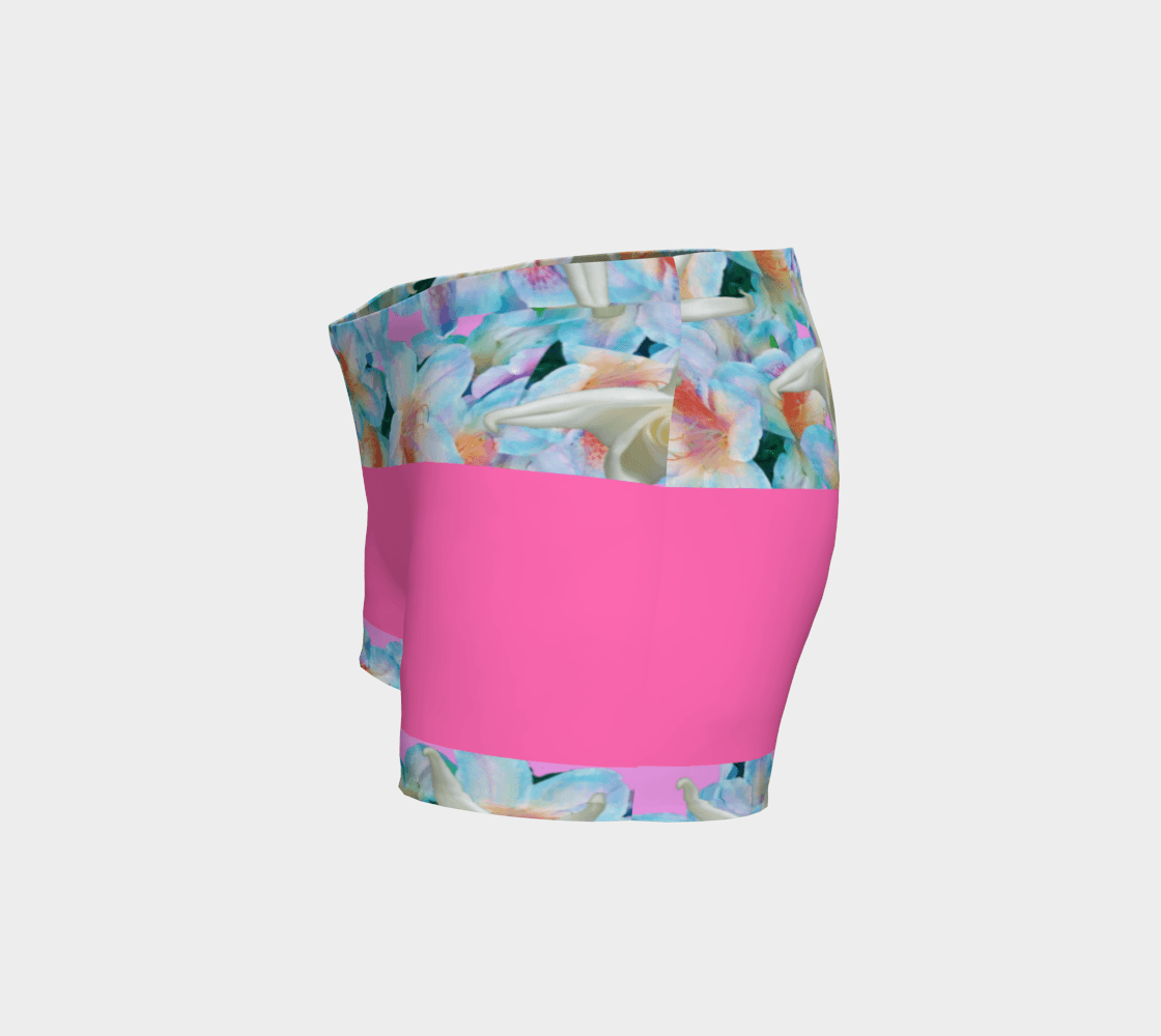 Midnight Floral Short Shorts - Tie-Fly