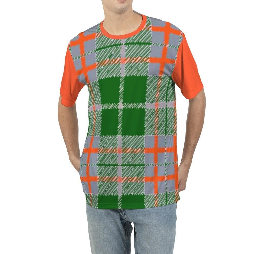 Tribute to Plaid Men's Tee - Tie-Fly