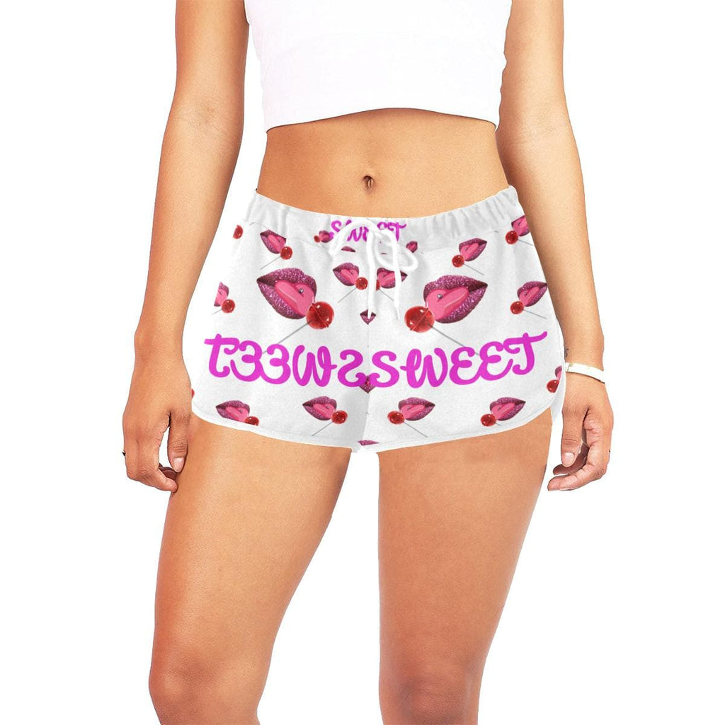 Sweet Clothing Collection Tease Short Shorts - Tie-Fly