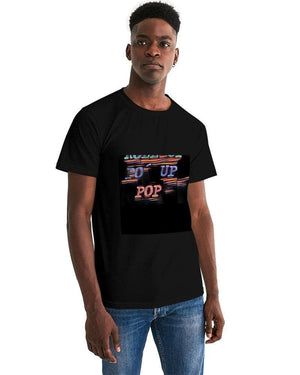 Roll Up Po' Up Pop Rave Edition  Men's Graphic Tee - Tie-Fly