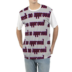 Seek No approval  Men's Tee - Tie-Fly