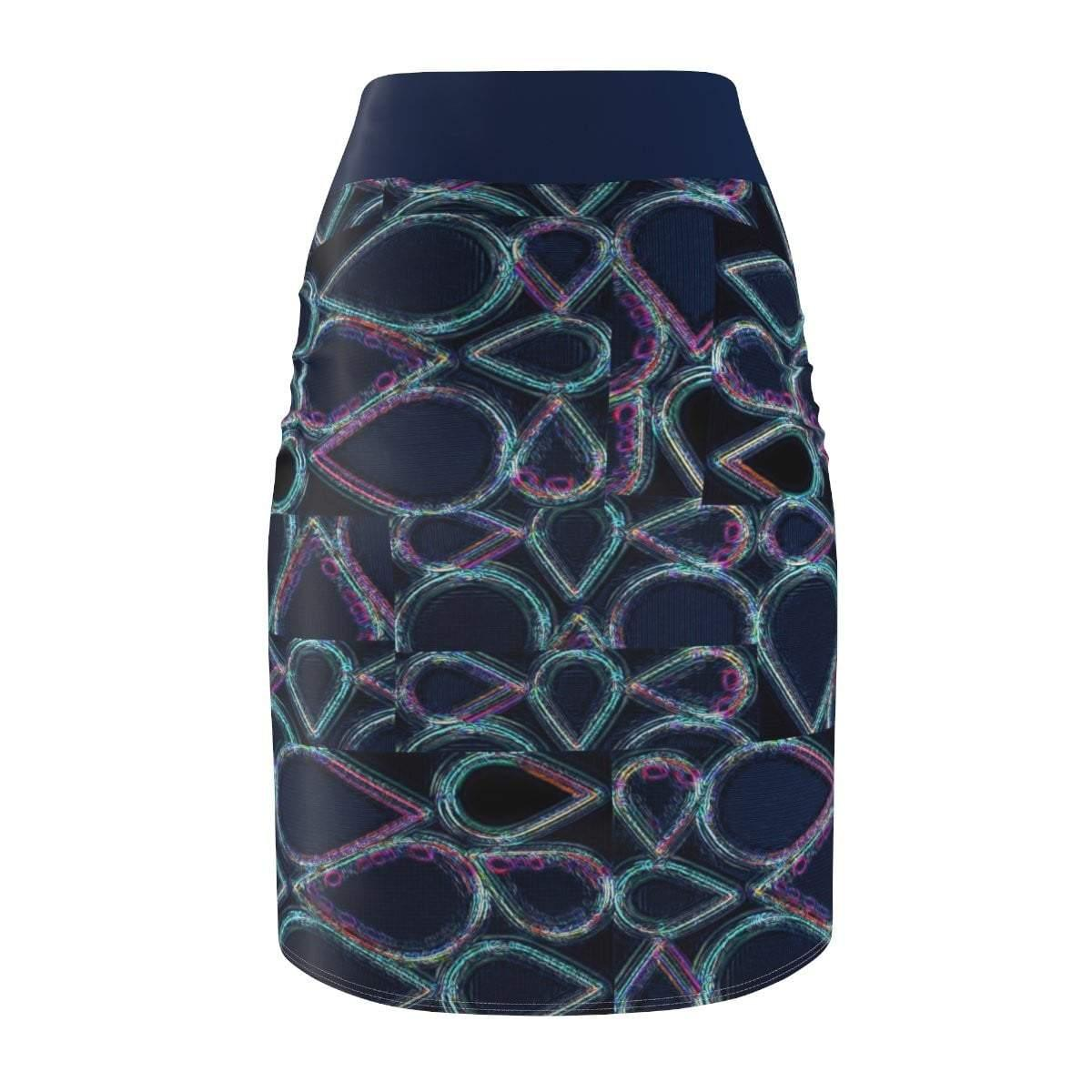 Pure Hydro Women's Pencil Skirt Voluptuous (+) Size Available - Tie-Fly