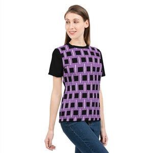 Royal Geo 2 Mini Women's Tee - Tie-Fly