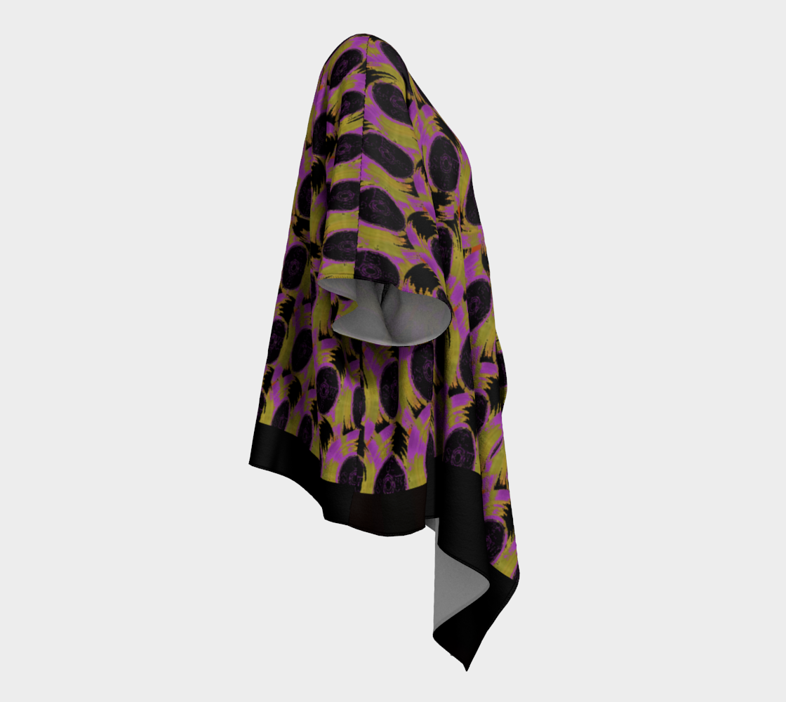 Abstract 3 Draped Kimono - TFC&H Co.