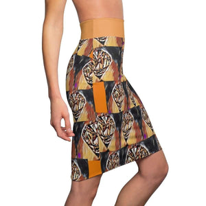 Diamond in The Sun Pencil Skirt Voluptuous (+) Size Available - Tie-Fly