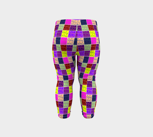 Abstract Infant & Toddler Leggings - Tie-Fly