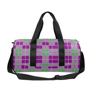 Tribute to Plaid Travel Duffel Bags - Tie-Fly