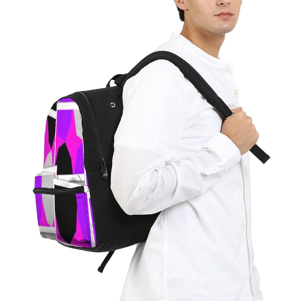 Royal Spread  Small Canvas Backpack - Tie-Fly