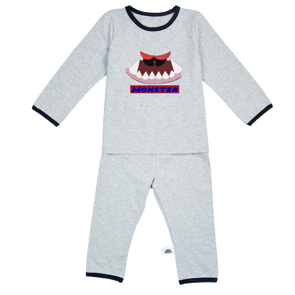 Monster Kids Pyjamas Sets - Tie-Fly