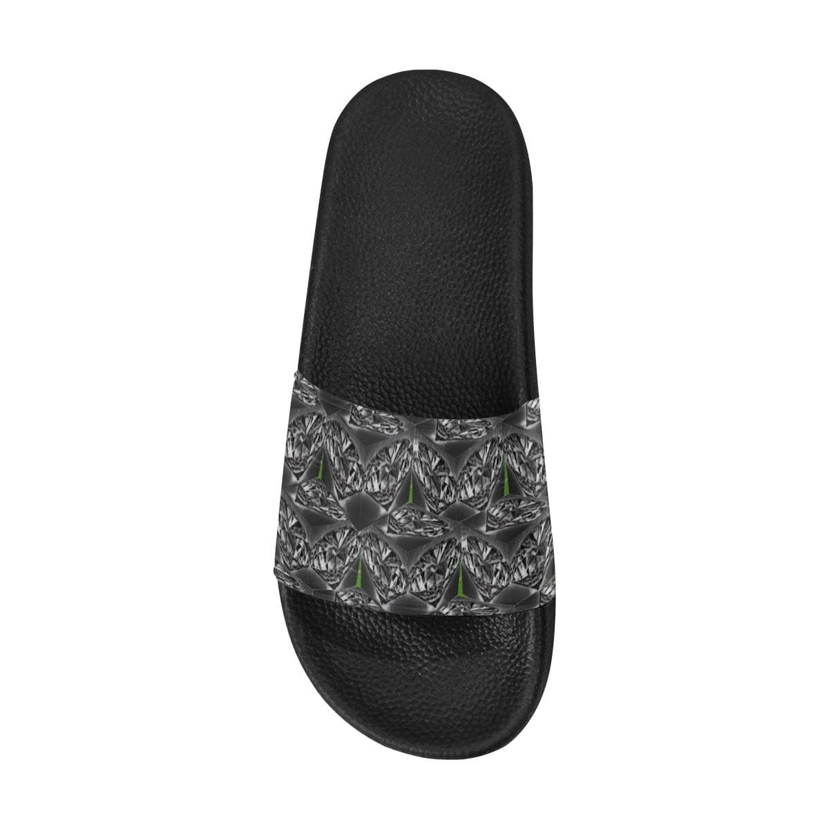 Black Ice Men's Slide Sandals - Tie-Fly