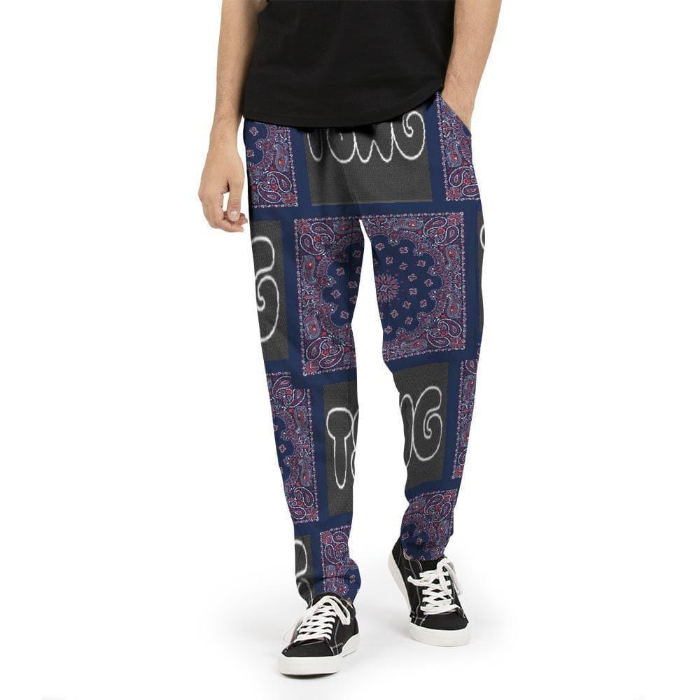 TSWG (Tough Smooth Well Groomed) Bandana   Men's Joggers Voluptuous (+) Size Available - Tie-Fly