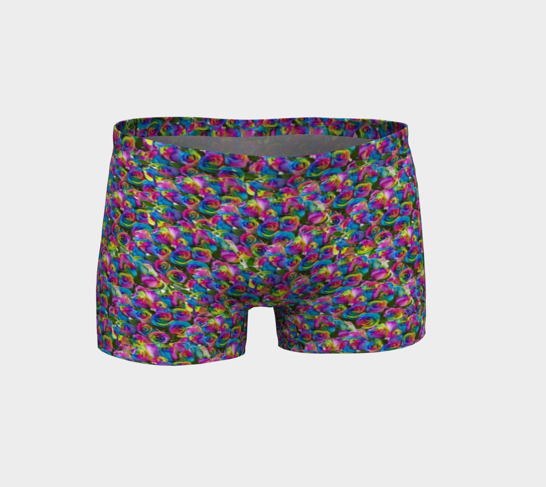 Psy-Rose Short Shorts - TFC&H Co.