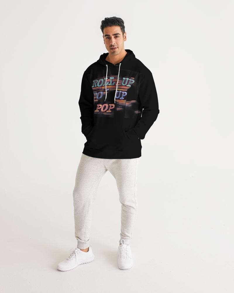 Roll Up Po' Up Pop Rave Edition  Men's Hoodie - Tie-Fly