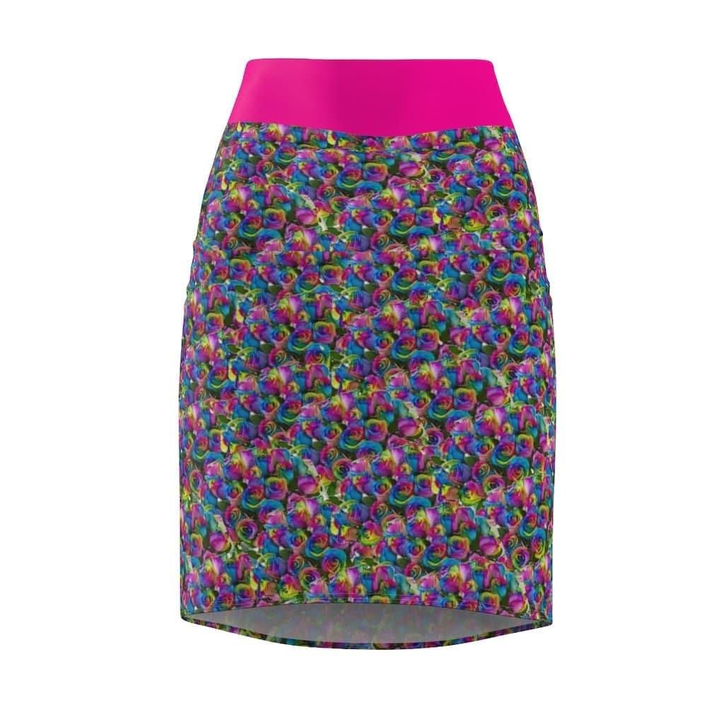 Pys-Rose Women's Pencil Skirt Voluptuous (+) Size Available